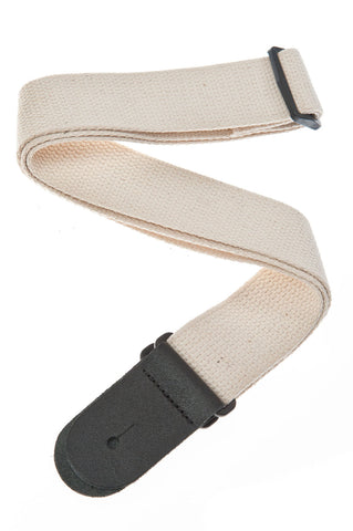 Planet Waves Cotton Guitar Strap - Natural 50CT01