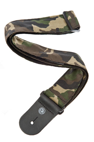 Planet Waves Camouflage Guitar Strap 50G04