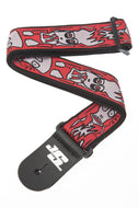 Planet Waves Joe Satriani Up In Flames Guitar Strap 50JS02