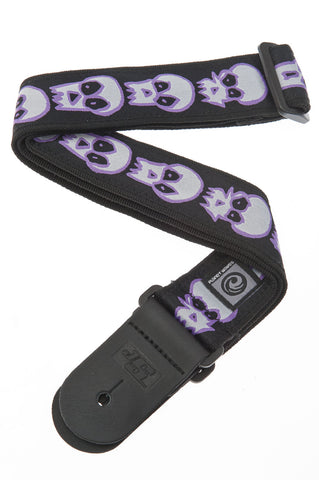 Planet Waves Joe Satriani Skulls Guitar Strap 50JS07