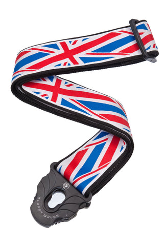 Planet Waves 50MM PLANET LOCK-UNION JACK - 50PLA11