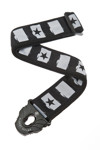 Planet Waves Rock Star Locking Guitar Strap 50PLC01