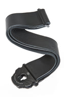 Planet Waves 50mm Planet Lock Leather Guitar Strap - Black 50PLL00