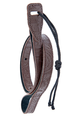 Planet Waves 3/4inch embroidered Mandolin strap-Brn 75ME01