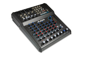 Alesis 8 Channel mixer with MIc, Line & Guitar level inputs