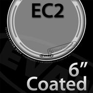 Evans B06EC2S 6 inch EC2 Batter Coated 2-ply