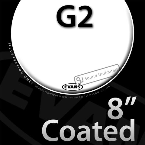 Evans B08G2 8 inch Genera G2 Batter Coated 2-ply