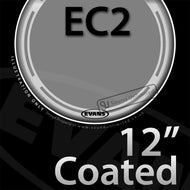 Evans B12EC2S 12 inch EC2 Batter Coated 2-ply
