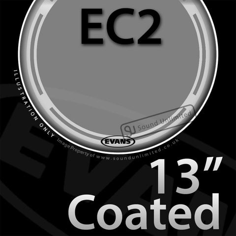 Evans B13EC2S 13 inch EC2 Batter Coated 2-ply