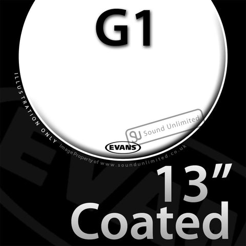 Evans B13G1 13 inch Genera G1 Batter Coated 1-ply