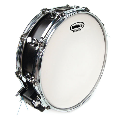 Evans B14G1RD 14 inch Power Center Reverse Dot Snare Batter