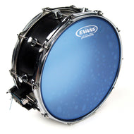 Evans B14HB 14 inch Hydraulic Snare Batter Blue 2-ply