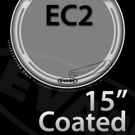Evans B15EC2S 15 inch EC2 Batter Coated 2-ply