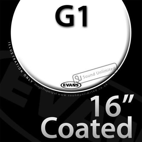 Evans B16G1 16 inch Genera G1 Batter Coated 1-ply