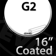 Evans B16G2 16 inch Genera G2 Batter Coated 2-ply