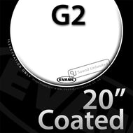 Evans B20G2 20 inch Genera G2 Batter Coated 2-ply