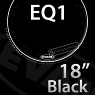 Evans BD18RA 18 inch EQ1 Bass Resonant Black