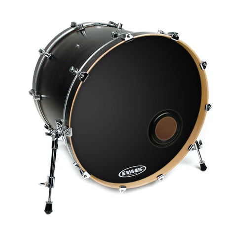 Evans BD18REMAD 18 inch EMAD Bass Resonant Black