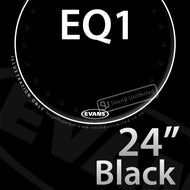 Evans BD24RA 24 inch EQ1 Bass Resonant Black