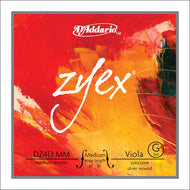 Daddario Zyex Viola G Medium Med - Dz413 Mm