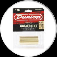 Dunlop - Solid Brass Slide -Heavy Wall -Med - 224