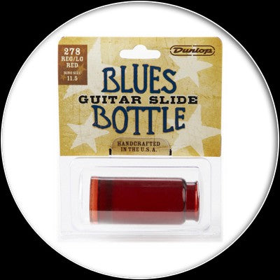 Dunlop Blues Bottle Slide - Large - Red - 278red