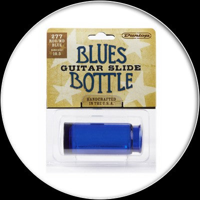 Dunlop Blues Bottle Slide - Med - Blue - 277blu