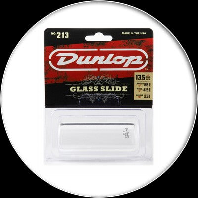 Dunlop Pyrex Glass Slide - Heavy Wall - Large - 213L