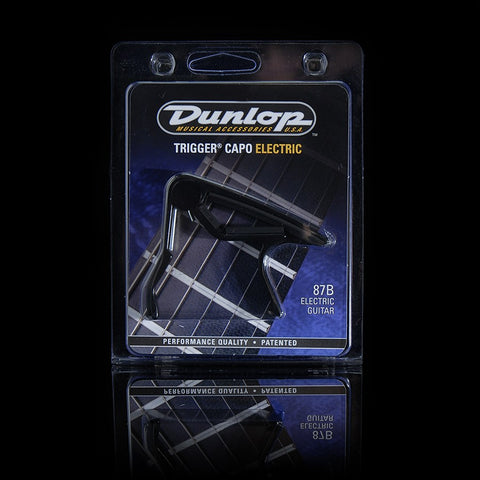 Dunlop Trigger Capo Electric Black 87B