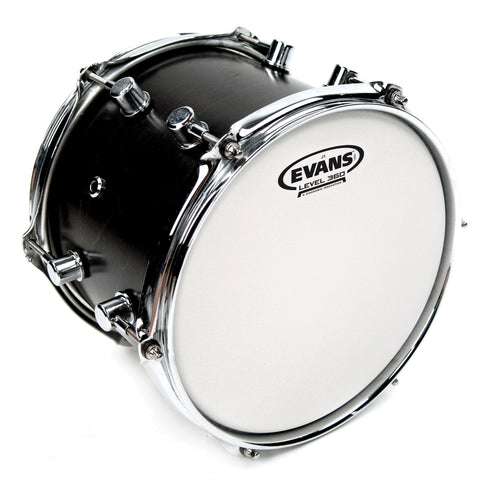 Evans E12J1 12 inch J1 Jazz Etched Batter Clear 1-ply