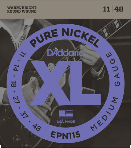 DAddario Pure Nickel 11-48 EPN115