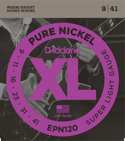 DAddario Pure Nickel 9-41 EPN120