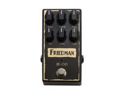 Friedman BE-OD Overdrive pedal based on legendary BE-100