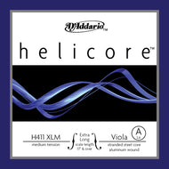 Daddario Helicore Vla A X-Long Med - H411 Xlm