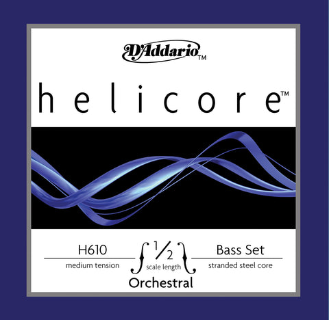 Daddario Helic Orch Bass Set 1/2 Med - H610 1/2M