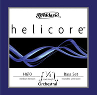 Daddario Helic Orch Bass Set 1/4 Med - H610 1/4M