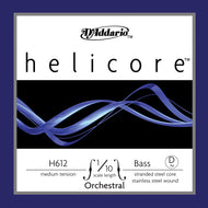 Daddario Helic Orch Bass D 1/10 Med - H612 1/10M
