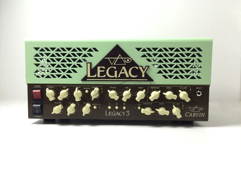 Carvin Steve Vai Legacy 3 Amp in Vai Green