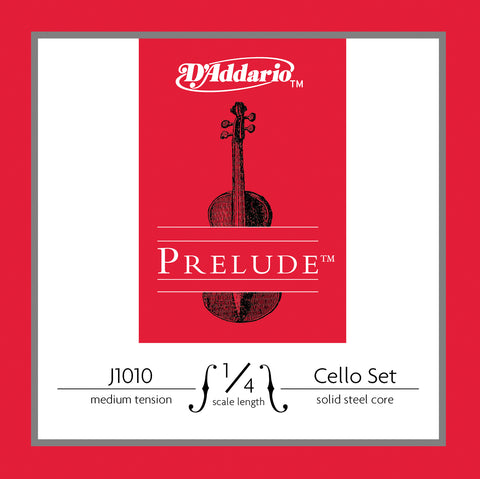 Daddario Prelude Cello Set 1/4 Med - J1010 1/4M