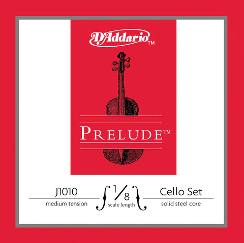 Daddario Prelude Cello Set 1/8 Med - J1010 1/8M