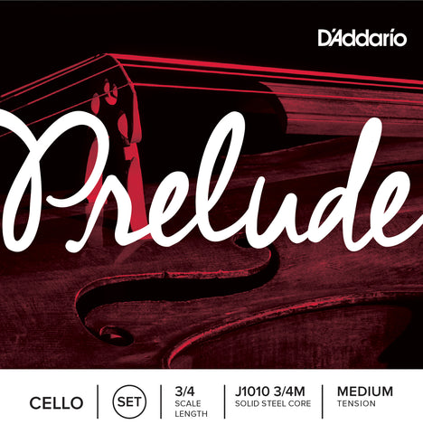 Daddario Prelude Cello Set 3/4 Med - J1010 3/4M