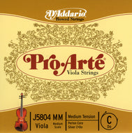 Daddario Proarte Viola C Medium Med - J5804 Mm