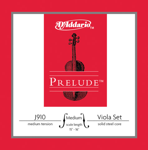 Daddario Prelude Vla Set Medium Med - J910 Mm