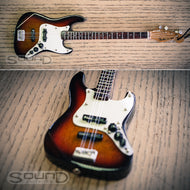 Fender 60's Sunburst Jazz Bass Mini hanging guitar