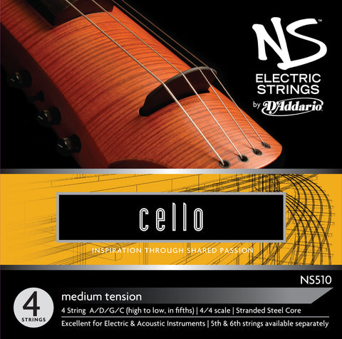 Daddario Ns Electric Cello Set - Ns510