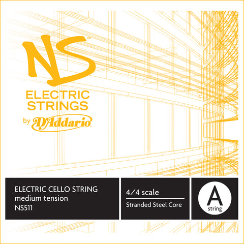 Daddario Ns Electric Cello A - Ns511