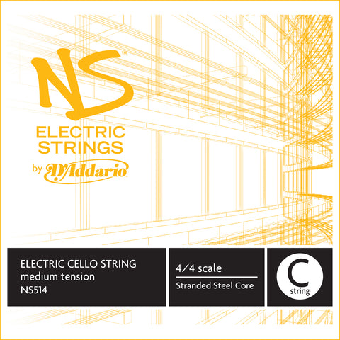 Daddario Ns Electric Cello C - Ns514