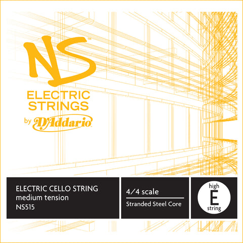 Daddario Ns Electric Cello High E - Ns515