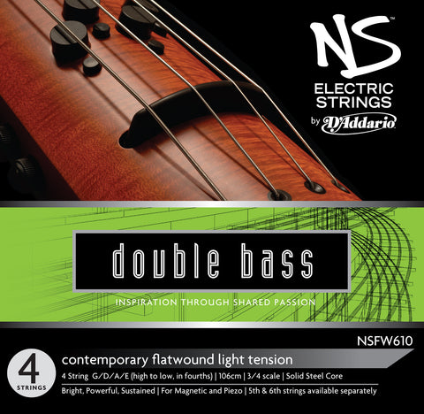 Daddario Ns Electric Cont Bass Set - Nsfw610