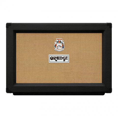 Orange PPC212 2x12 Speaker Cabinet Black